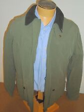John Partridge Field Jacket with Fleece Lining NWT Large $445 Olive Green