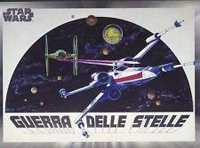 2017 Star Wars 40th Anniversary Card #113 Italian Star Wars Poster (X-Wing)