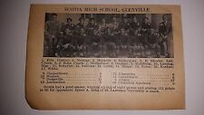 Scotia High School Glenville Painted Post New York 1926 Football Team Picture