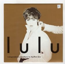 (R47) Lulu, Independence (Brothers in Rhythm mix) - 1993 - 7 inch vinyl