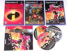 3 Top Kids Games for Playstation 2 e.g. Incredible; Jak; Viewtiful Joe