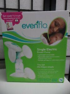 Evenflo Single Lightweight Portable Electric Breast Pump BPA Free NEW