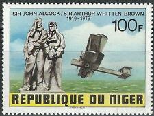 Niger - Erster Flug von Neufundland nach Irland postfrisch 1979 Mi. 669