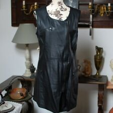 Robe portefeuille simili cuir 44