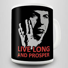 Live Long and Prosper Gift Mug - Inspired by Spock's parting words in Star Trek