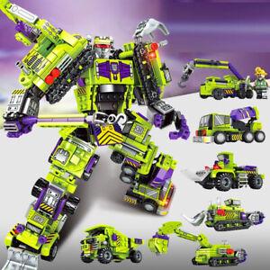 Educational Toy Kid Building Bricks Constructor C2 Block Robot Car Technique 709