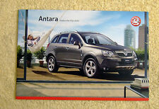 Vauxhall New Antara Product Preview Feb 2007, E, S & SE, 2.4-16v, 2.0CDTi-16v