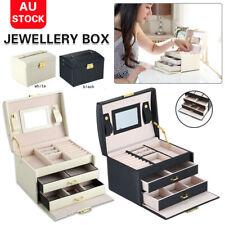 Jewellery Display Box Bracelet  Necklace Drawer Storage Organiser Travel Case
