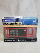 Midland Weather Alert Compact Emergency Crank Radio ER200