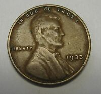 1933 Lincoln Wheat Cent in Average Circulated Condition Priced Right FREE S&H