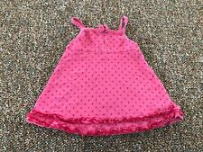 Faded Glory Pink Spotted Dress 3-6M