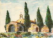 PROVENCE pittoresque chapelle timbrée 1967