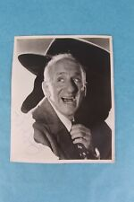 "VINTAGE JIMMY DURANTE HAND SIGNED AUTOGRAPH ON 8"" X 10"" BLACK & WHITE PHOTOGRAPH"
