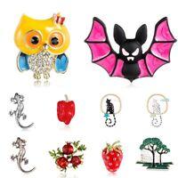 Lovely Cute Cartoon Enamel Lapel Collar Pin Corsage Brooch Breastpin Jewelry