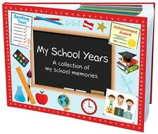 Hard Cover My School Years Book - School memory keepsake for child memories