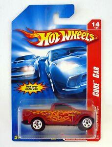 HOT WHEELS DODGE POWER WAGON #14 Code Car Die-Cast Car Variant MOC COMPLETE 2006