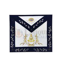 MASSONICO Grand Lodge PAST MASTER Grembiule color oro mano ricamo ma063