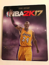 NBA 2K17 Steelbook G2 PS4Xbox *No Game Included* - Rare