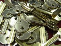 25 x 1A KEY BLANKS 5 pin Good Quality Brand New Standard 1A Cylinder Key Blanks