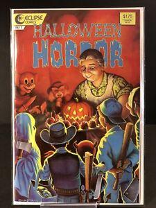 HALLOWEEN HORROR  #1 Eclipse 1987 Comics ~9.2~ (RC)