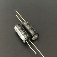 10pcs 220uF 35V ELNA RJH RJJ 8x20mm 35V220uF Low Impedance Audio Capacitor