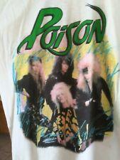 POISON 1986 I've Been Poisoned vintage licensed concert tour shirt MD Brand New