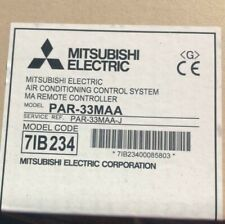 Mitsubishi Electric Air conditioning control system Remote controller.-PAR-33MAA