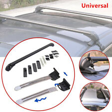 Universal Car SUV Roof Rail Luggage Rack Baggage Carrier Cross + Anti-theft Lock