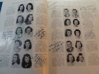 1946 Jan. HOPE HIGH SCHOOL Providence Rhode Island Original YEARBOOK Blue White