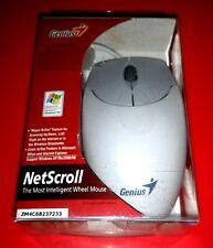 GENIUS NETSCROLL 🐁 MOUSE PS2