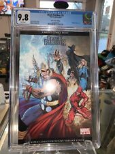 9.8 CGC Black Panther #25 Michael Turner Aspen Exclusive Variant Cover