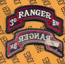 3rd Bn 75th Infantry Airborne Ranger Regiment post 1984 scroll patch m/e