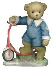 CHERISHED TEDDIES COLBY - Boy Bear On Scooter -2001 Radio Flyer - Retired