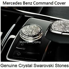 Crystal Stone Command Button Cover Cap Mercedes C E GLK Class Controller Switch