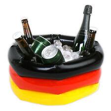 3 x Getränkekühler f. Bier 40 cm Deutschland Fussball EM 2016 Fußball Fanartikel