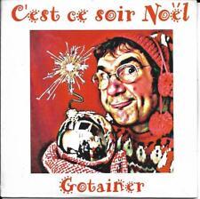 RARE CD CARTON CARDSLEEVE 2T RICHARD GOTAINER C'EST CE SOIR NOEL NEUF SCELLE 97