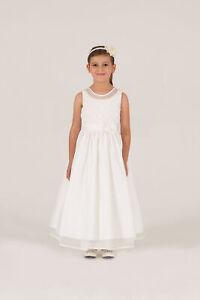 Crissy Girls Kids Formal Flower Girl Chiffon 3/4 Dress - Party Wedding