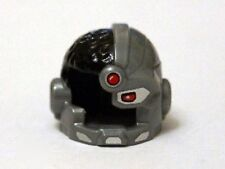 LEGO - Minifig, Headgear Helmet, Side Open w/ Red Eye & Red Dot (Cyborg)