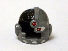LEGO - Minifig, Headgear Helmet, Side Open w/ Red Eye & Red Dot (Cyborg)