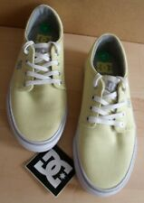 DC Shoes Yellow 5.5 NEW Trainers & Sticker Lot