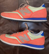 New Balance J Crew 620 Retro Sneakers Orange cw620bc1 2013 Shoes Size 8.5 Rare