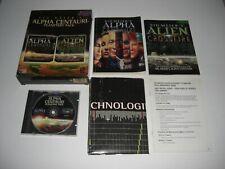 ALPHA CENTAURI Planetary Pack inc ALIEN CROSSFIRE Pc Cd Rom Original BIG BOX
