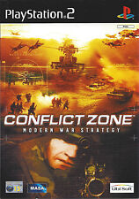 CONFLICT ZONE MODERN WAR STRATEGY for Playstation 2 PS2 with box & manual - PAL