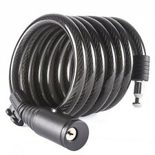 Etronic ® Security Lock M7K Self Coiling Keyed Cable Lock, 6-Feet x 1/2-Inch US