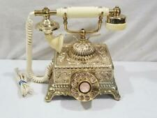 Vintage Radio Shack Antique French Victorian Reproduction Desk Telephone