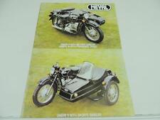 Neval Dnepr Motorcycle Sidecar R80 Siberian Dealer Brochure Lucas L2641