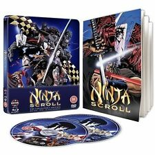 Ninja Scroll Steelbook Blu-ray DVD Booklet Collector's Edition