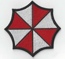 RESIDENT EVIL UMBRELLA   IRON ON OR SEW ON PATCH  buy 2 get 1 free = 3 OF THESE.