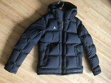 Womens Le Coq Navy Puffer Duck Down Hooded Jacket Medium Duratherm & Thermal