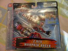 NIB 2003 POWER RANGERS DINO THUNDER Z-REX MORPHIN RACER BY BAN DAI